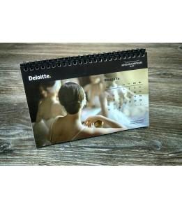 Календарь-домик с перекидным блоком