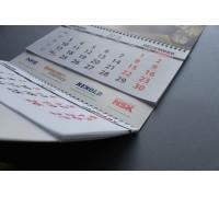 Календарь квартальный  «Трио»